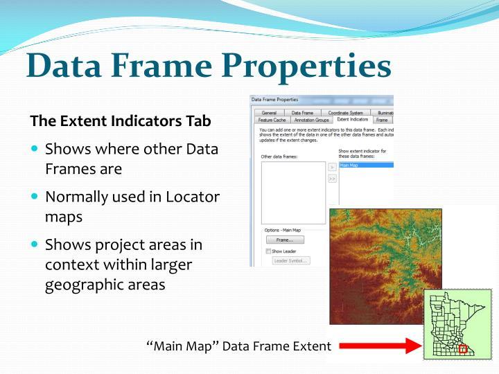 Data Frame Properties