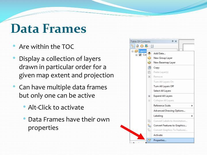 Data Frames