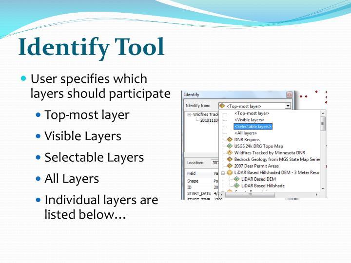 Identify Tool
