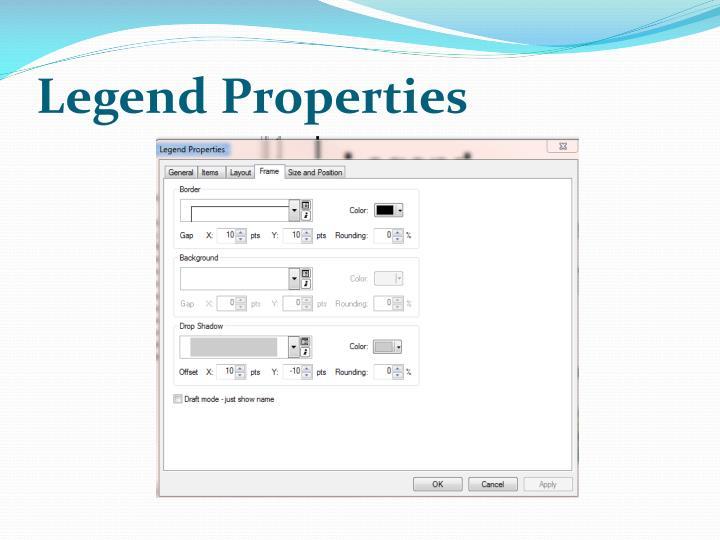 Legend Properties
