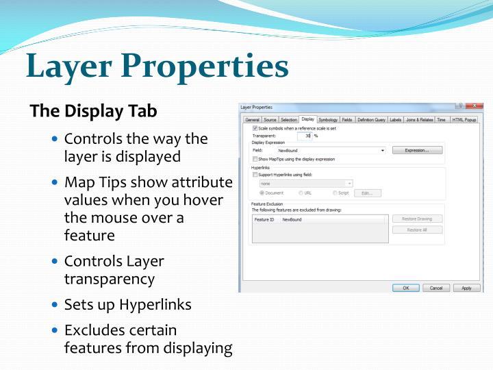 Layer Properties