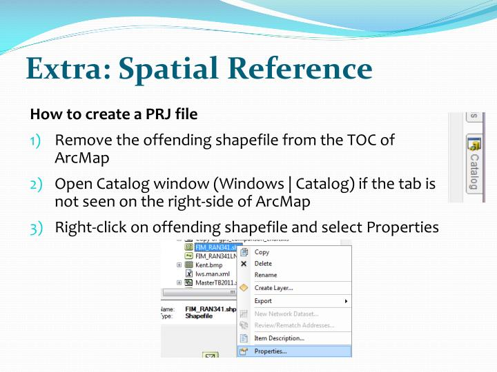 Extra: Spatial Reference