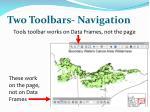 two toolbars navigation1