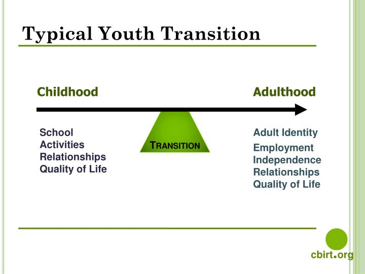 Typical Youth Transition