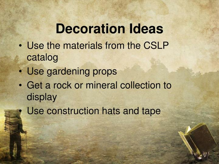 Decoration Ideas