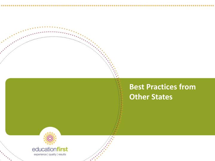 Best Practices from Other States