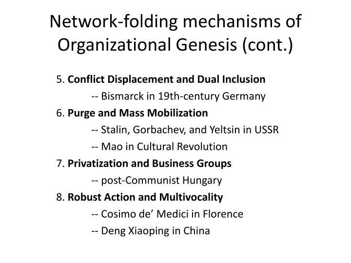 Network-folding