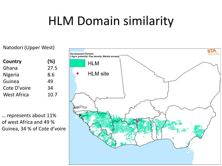HLM Domain similarity
