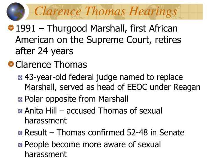 Clarence Thomas Hearings