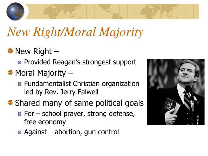 New right moral majority
