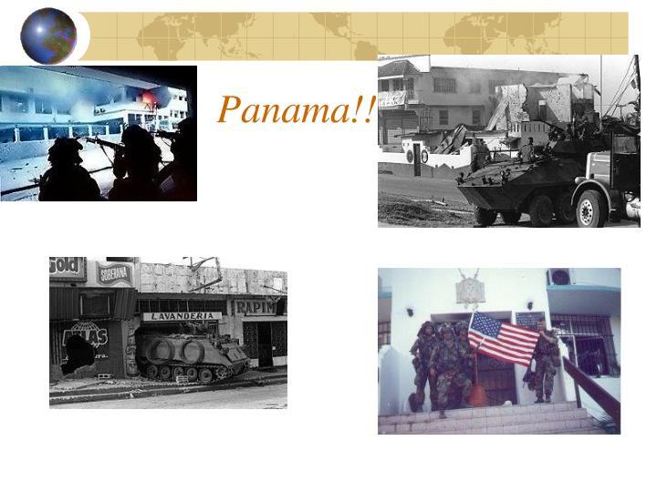 Panama!!