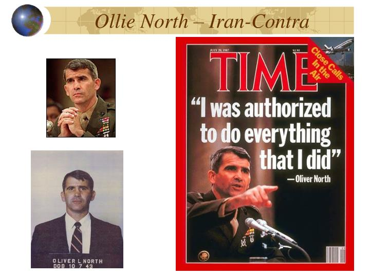 Ollie North – Iran-Contra