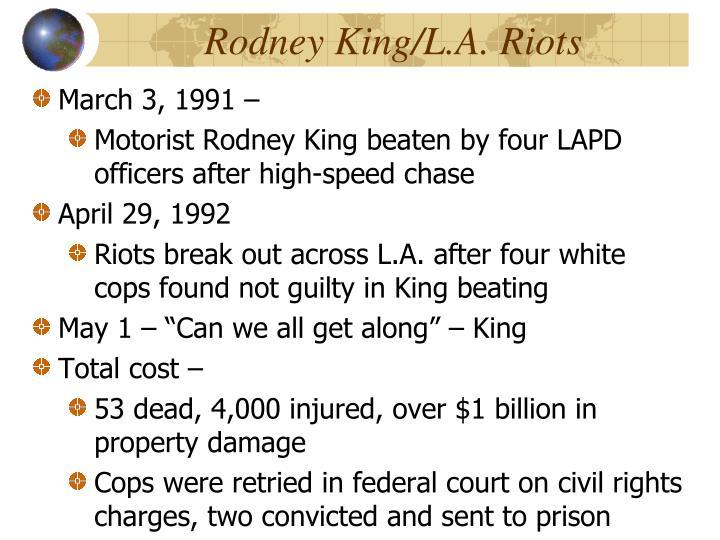 Rodney King/L.A. Riots