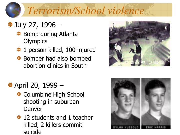 Terrorism/School violence