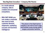 new big data innovation company war rooms