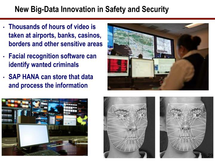 New Big-Data Innovation in Safety and Security