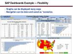 sap dashboards example flexibility