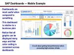 sap dashboards mobile example