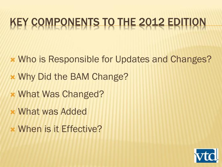 Who is Responsible for Updates and Changes?