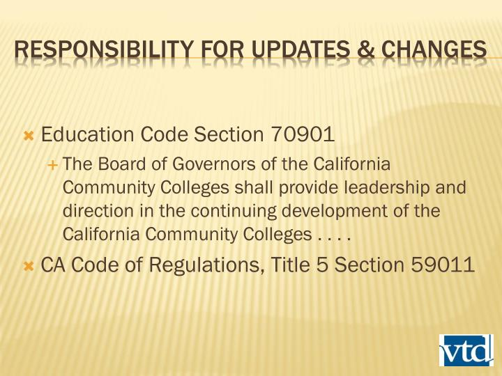 Education Code Section 70901