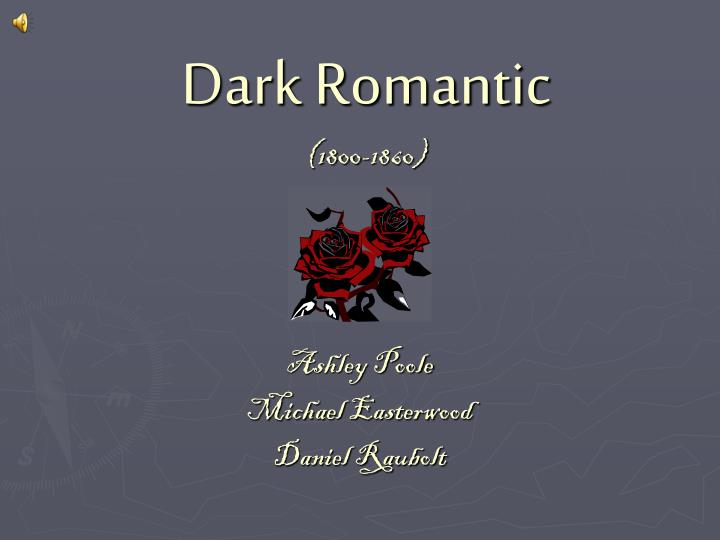 Dark romantic 1800 1860