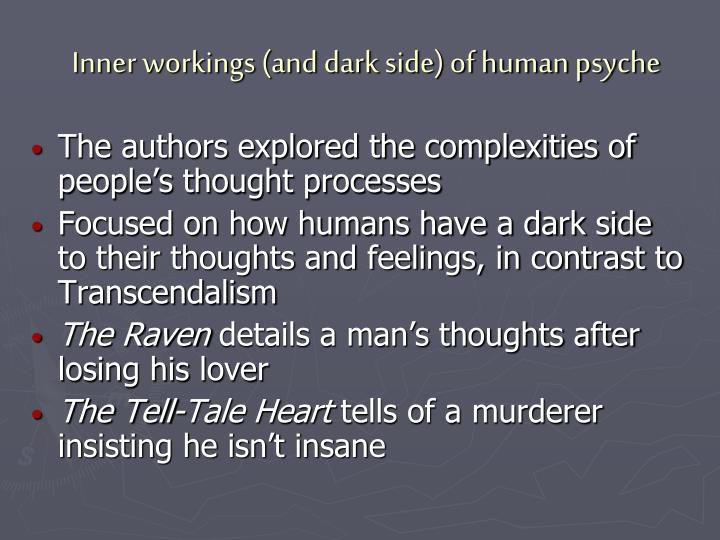 Inner workings (and dark side) of human psyche