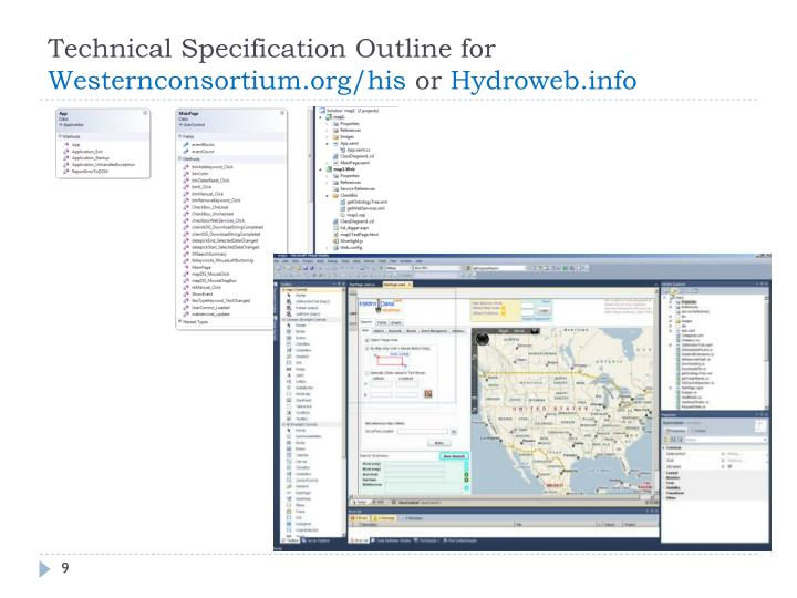 Technical Specification Outline for