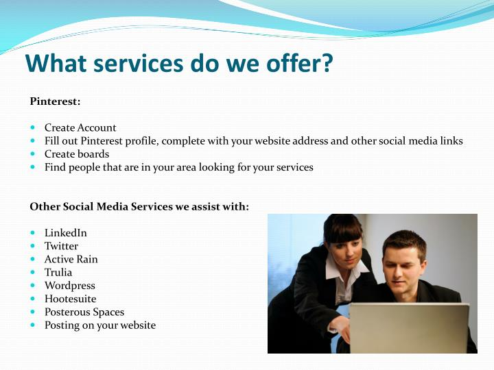 What services do we offer?