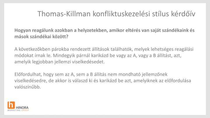 Thomas-Killman