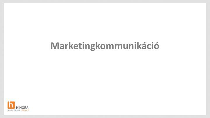 Marketingkommunikáció