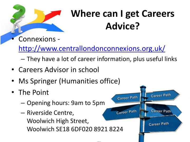 Where can I get Careers Advice?