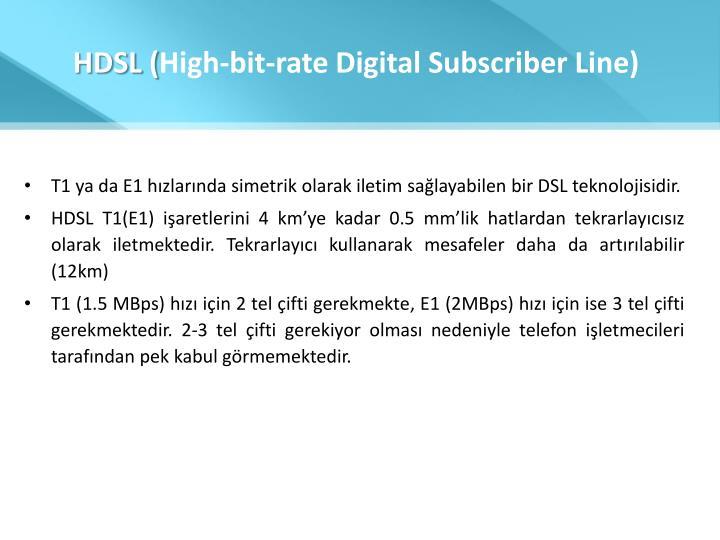 HDSL (