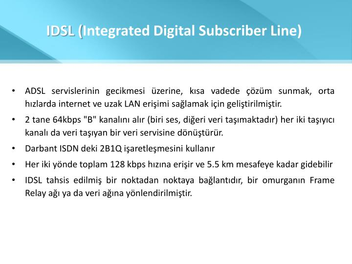 IDSL (