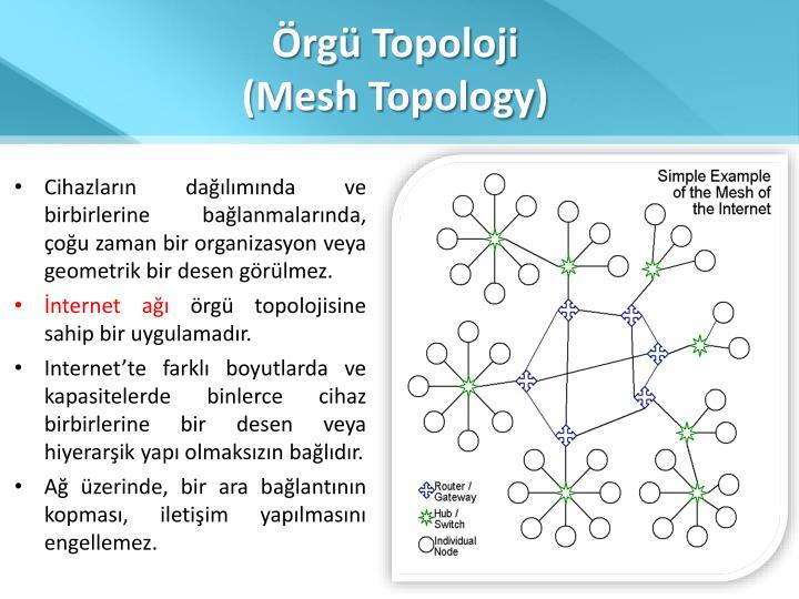 Örgü Topoloji