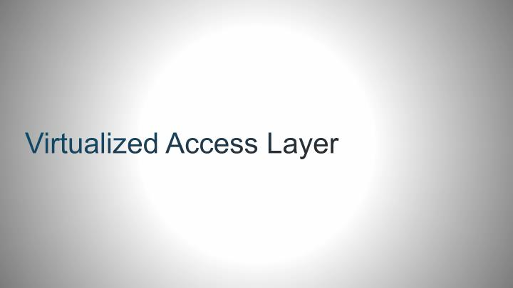 Virtualized Access Layer
