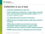 collection use of data