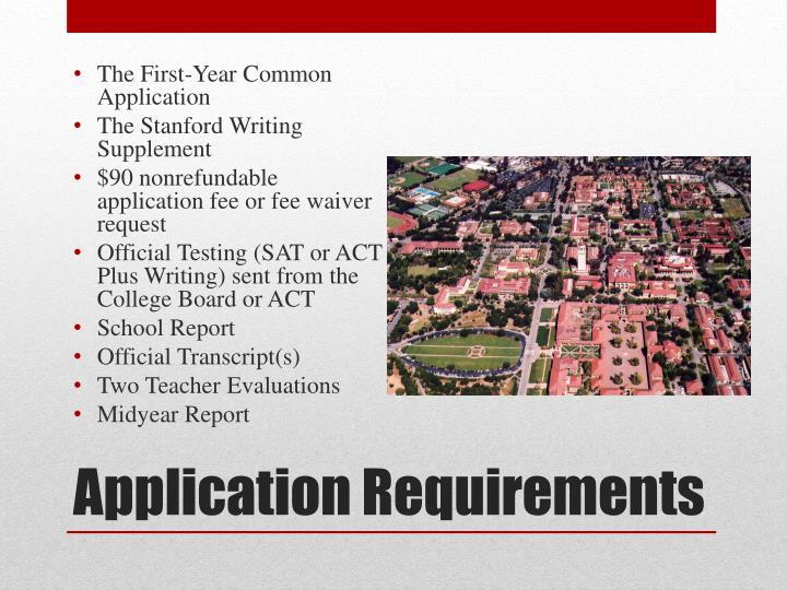 Stanford supplement essay