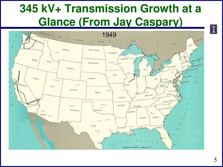 345 kV+ Transmission Growth at a
