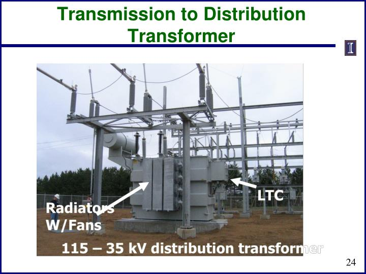 Transmission to Distribution