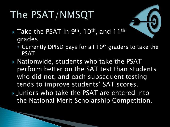 The PSAT/NMSQT