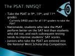 the psat nmsqt
