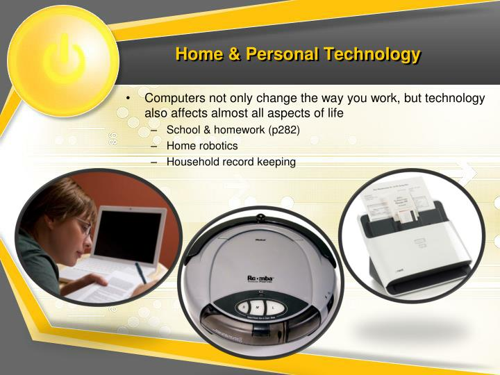 Home & Personal Technology