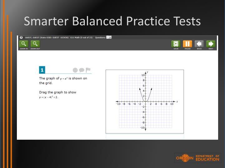 Smarter Balanced Practice Tests
