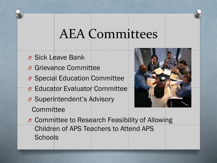 AEA Committees