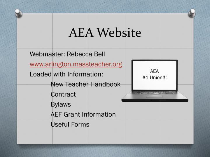 AEA Website