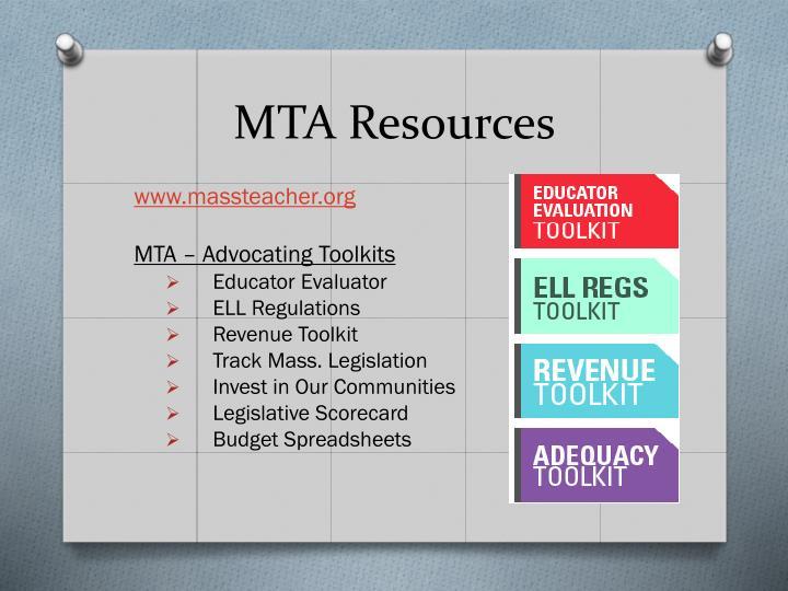 MTA Resources