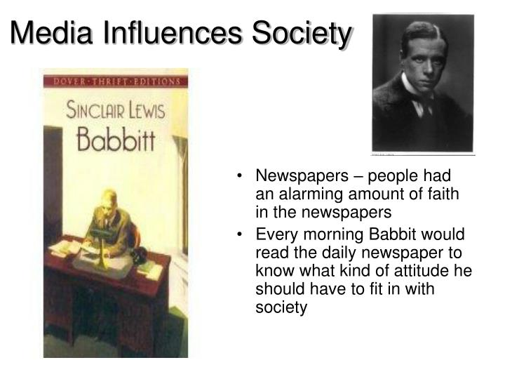 Media Influences Society