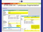 etms env 04 landscape fragmentation3