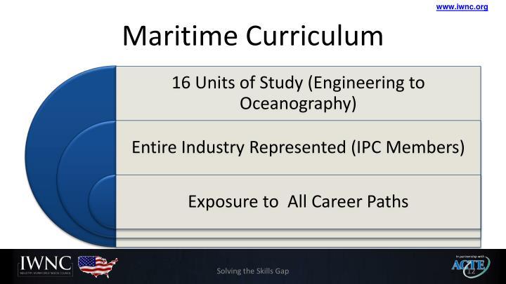Maritime Curriculum
