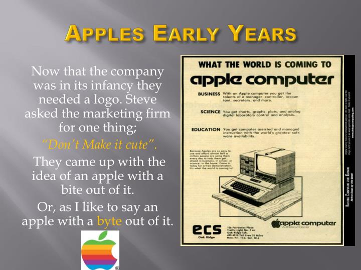 Apples Early Years